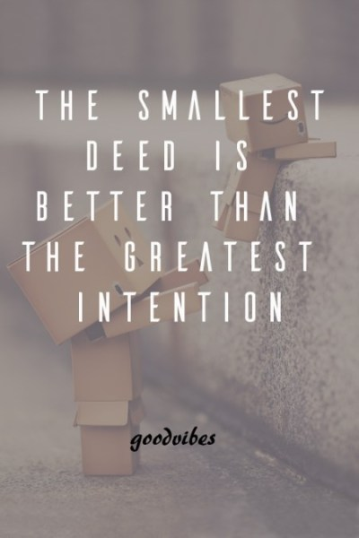 Inspiring and Motivational Quotes on good deeds